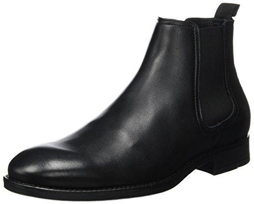 Bianco Chelsea Männer Boots Stivali Uomo Nero nero