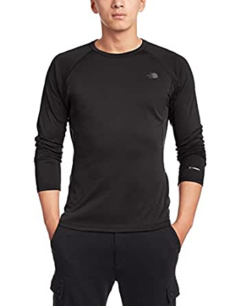 The North Face Warm Long Sleeve Crew Neck Base Layer Mens TNF Black S