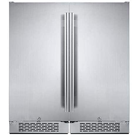 Avallon 6.7 Cu Ft nevera integrada, lado a lado: Amazon.es ...