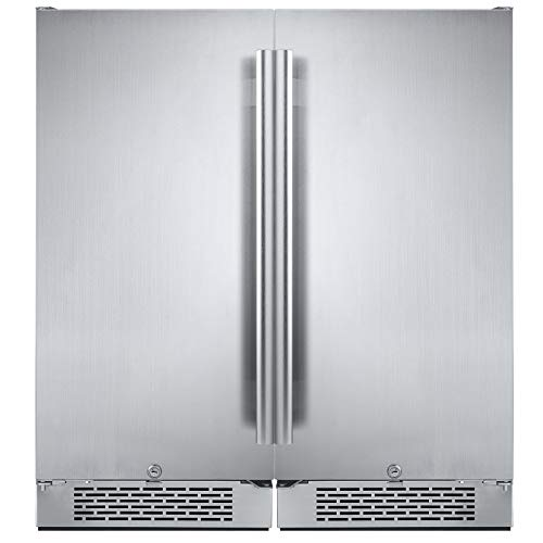 - Avallon AFR151SSDUAL 6.7 Cu Ft Built in Side-by-Side Fridge