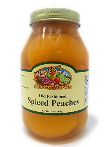 (Weaver's Country Market Spiced Peaches (1 Quart Jar))