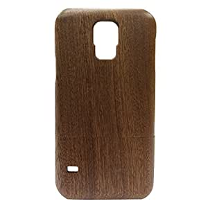Handcrafted Sapele Wood 9600 I9600 Wooden Case Cover Shell Skin for Samsung Galaxy S5 Case,galaxy S5 Sv Cases,samsung Galaxy S5 Wood Case Skin Cover