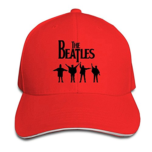 Road Baseball Hat - BestSeller Unisex The Beatles Abbey Road Peaked Adjustable Baseball Caps Hats Red