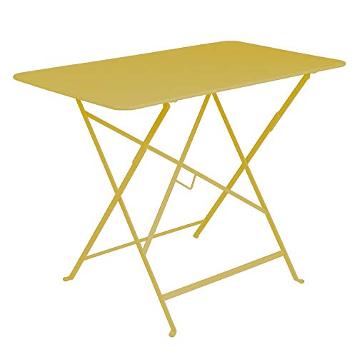 Fermob Bistro Table, Jaune: Amazon.fr: Jardin