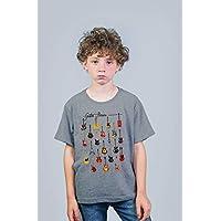 Camiseta Infantil Unissex: Guitar Hero