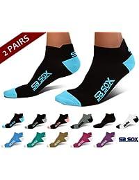 Ultralite Compression Running Socks for Men & Women (2 Pairs)