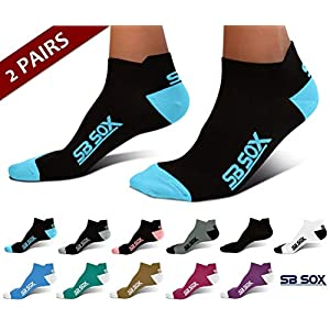 SB SOX Lite Plantar Fasciitis Socks for Men & Women (2 pairs)