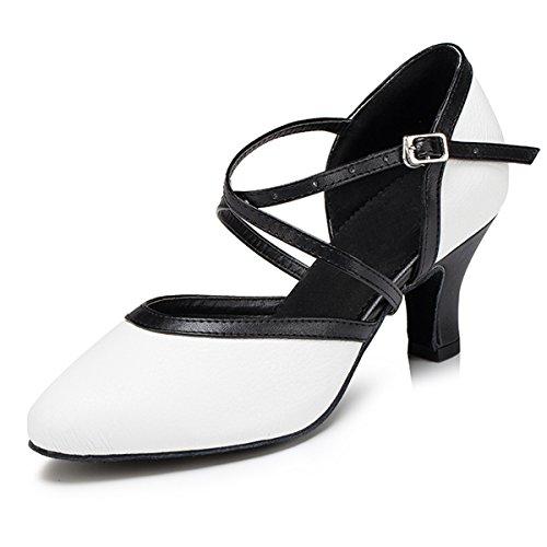 Miyoopark - salón mujer White-6cm Heel