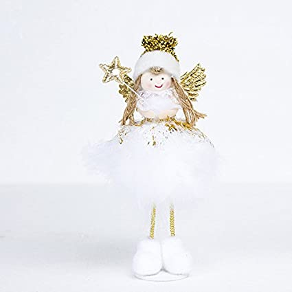 sherobin christmas angel doll toy christmas decorations for home christmas tree decorations xmas kids new year - Christmas Angel Decorations