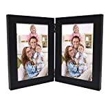 Giftgarden Hinged Photo Frames 4x6 Double Picture Frame for 6x4 Inch Photograph, Friend