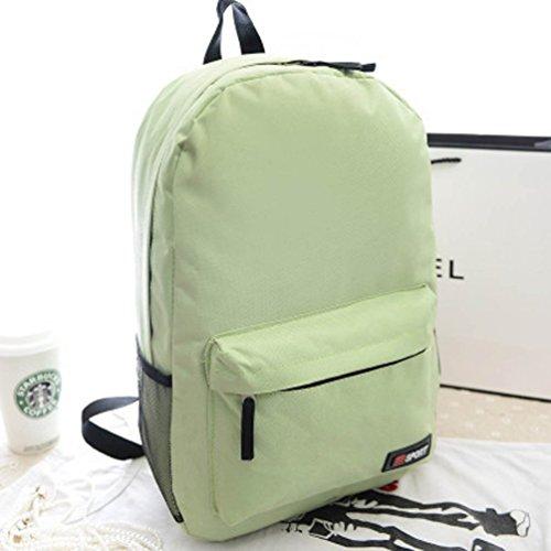 El más nuevo paño de Oxford de viajes Corea del totalizador de la manera portable de los zapatos de la bolsa de ocio bolsa de almacenamiento, 44 ??* 32 * 13cm, Green2 Green