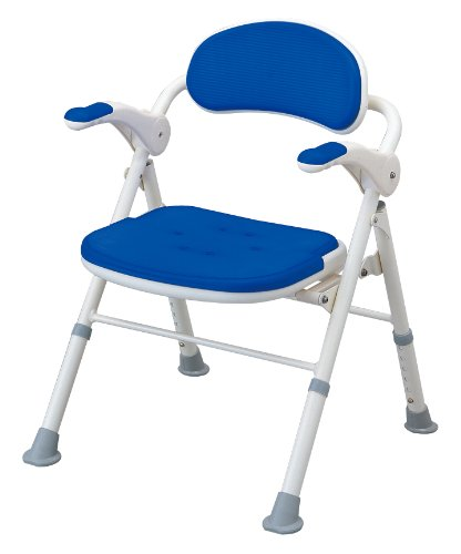 アロン化成 安寿 折りたたみシャワーベンチ TS ブルー B0017ES2ZI ブルー ブルー