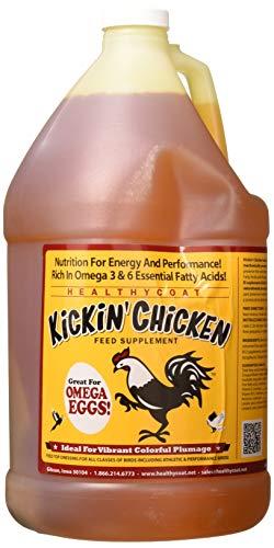 - HealthyCoat 015HC-00052 Supplement Kickin Chicken, 1 Gallon