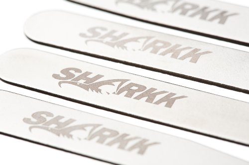 SHARKK® Set Of 24 Metal Stainless Steel Collar Stays 4 Size Options For Dress Shirts