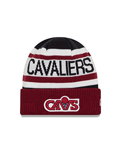 NBA Cleveland Cavaliers New Era NBA HWC Biggest Fan 2.0 Cuff Knit Beanie, One Size, Brick