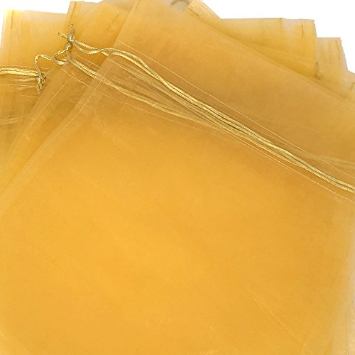 20 Organza Gift Bags Pouches Drawstring Party Gift Bags XL 12