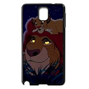 C-EUR Customized Print Lion King Hard Skin Case Compatible For Samsung Galaxy Note 3 N9000