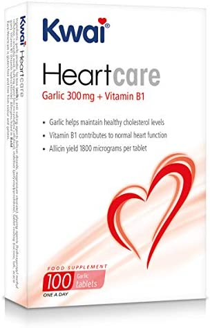 Kwai Heart Care Garlic 300mg one-a-day , 100 tablets