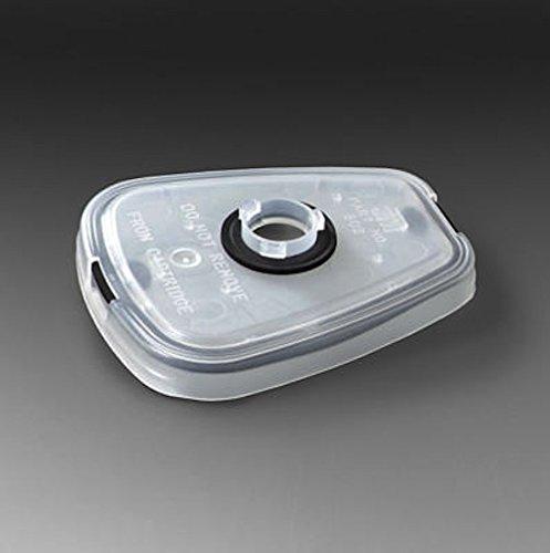 3M 502 HEPA Filter Adaptor 5000 6000 Series 2 Pack