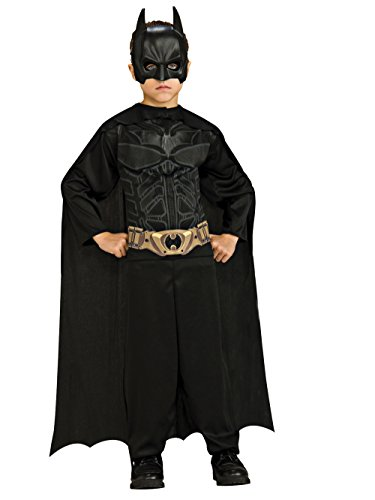 Action Halloween Costumes (Batman: The Dark Knight Rises: Action Suit with Cape and Mask (Black))