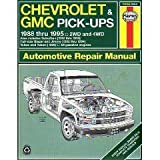 Haynes Chevrolet and GMC Pickup, 1988-95, Haynes Publications Staff, 1563921588