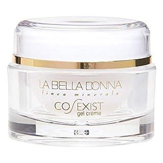 La Bella Donna CO-EXIST Anti-Aging Face Gel Creme (2 OZ.) - Aqueous Extract of Green Tea, Sodium Hyaluronate, Pentapetide-3, Retinol. Day and Night Moisturizing Gel Cream