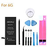 HOMSUM Battery Replacement Kit for iPhone 6 with Complete Repair Tools Kit