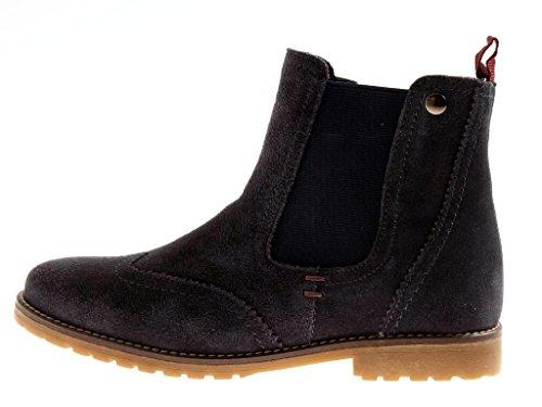 Stone Walk Chelsea Boots Stiefelette Lederschuhe Damen Schuhe 7418 Navy