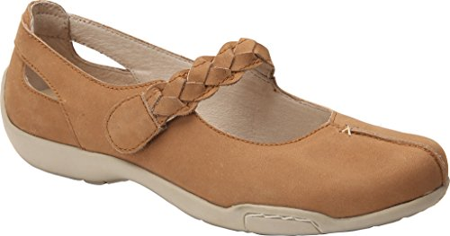 Ros Hommerson Women's Camry Leather, Foam, Rubber Fashion Mary Janes Cork Nubuck