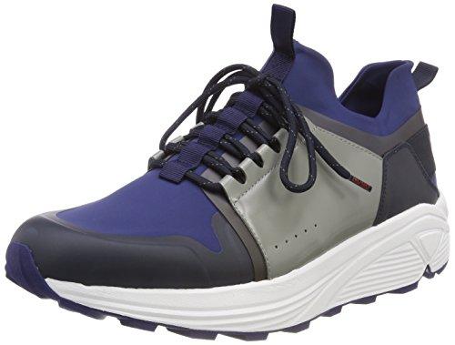 Homme Bleu Basses Hugo 420 Horizon runn Blue Sneakers medium neo ZI4XYAq