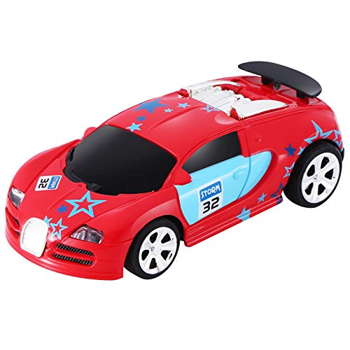 App Remote Control Mini Racing Car for Kid Boy Girl, 2.4 GHZ High Speed RC Car, Kid Toys Gifts (Red)