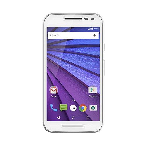Motorola Moto G (3nd Generation) - White - 16 GB - Global GSM  Unlocked Phone