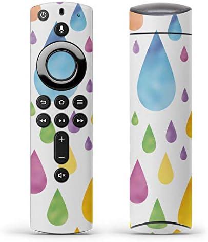 igsticker Fire TV Stick 第2世代 専用 リモコン用 全面 スキンシール フル 背面 側面 正面 ステッカー ケース 保護シール 006840 その他 雨 雫