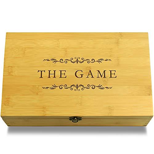 Cookbook People The Game Fantasy Dragons & Knights Multikeep Box - Keepsake Wood Adjustable Organizer