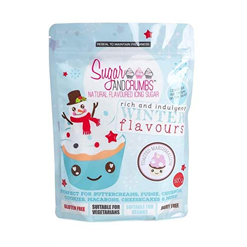 Toasted Marshmallow Flavoured Icing Sugar - Sugar & Crumbs - 500g