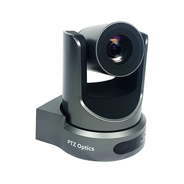 PTZOptics 20x USB Gen2 Full HD Broadcast and Conference Indoor PTZ Camera Gray