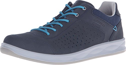 Lowa Women's San Francisco GTX Surround Navy/Petrol Sneaker 6 B (M)
