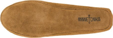 Minnetonka Sheepskin Softsole Moccasin, Mocassini Uomo Beige (Tan)