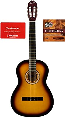 Squier by Fender SA-150 Acoustic Guitar Bundles