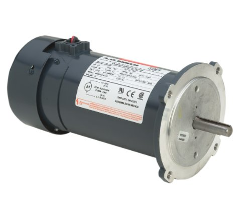 A.O. Smith D032 1/2 HP, 1725 RPM, 90 Volts, 5.35, TEFC Enclosure, 56C Frame, No Base, 5/8-Inch by 2-Inch Keyed Shaft DC Motor