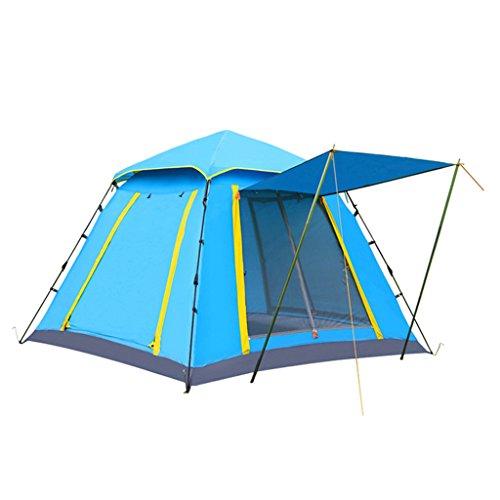 3 Personnes Ou 4 Personnes Construisent Automatiquement Des Tentes Multi-personne Anti-pluie Speed Open Wild Camping Beach Tent Set