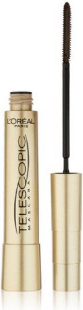 L'Oreal Paris Telescopic Mascara, Blackest Black [910] 0.27 oz (Pack of 3)