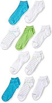 Fruit of the Loom girls Little Everyday Essential Cushion Low Cut Socks (10 Pack)