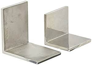 CRL Polished Stainless Steel 2-1/2 in x 2 in 90 Degree Outside Square Mall Front Clamp