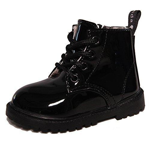Kids Conda Black Rain Boots - Waterproof Boots Size 7 M US Toddler