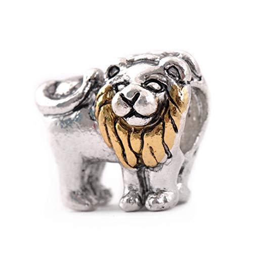 Lion Charm - Animal Charms - Fit For Europran Bracelet ()