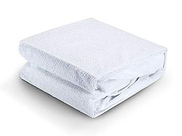 Terry Towelling Funda para colchón Protector de colchón Rizo Hoja Mojado Impermeable Lavable. Regalo, Matrimonio Grande: Amazon.es: Hogar