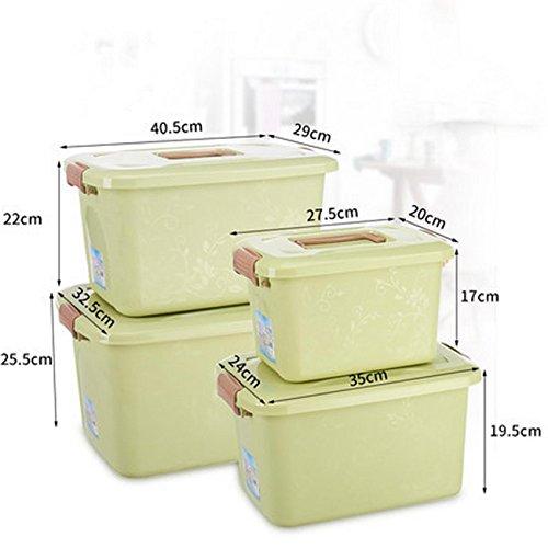 jii2030shann storage box wardrobe storage box with cover 4 piece box clothing toy storage box wardrobe storage box with a lid 4 sets , 4 piece storage box, covered 4 piece