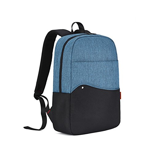 Computer backpack, female 15.6 inch campus backpack, leisure and simple,Sunbun blue by KYXXLD