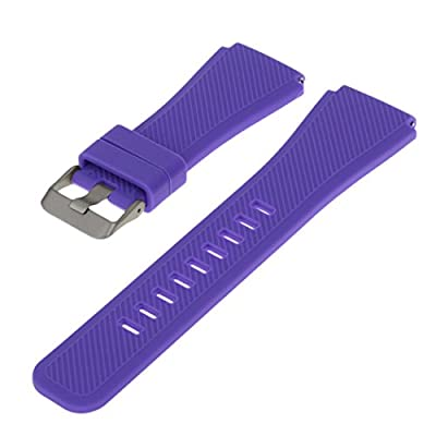 Outgeek Watch Band Silicone Watch Replacement Strap Color Watch Strap for Samsung Gear S3 Classic and Frontier from Outgeek